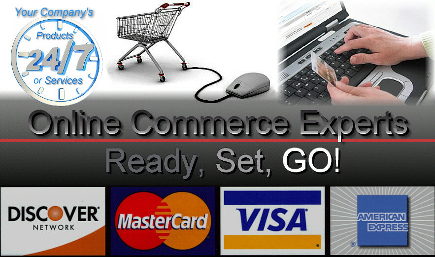 We are Online Comerce Experts