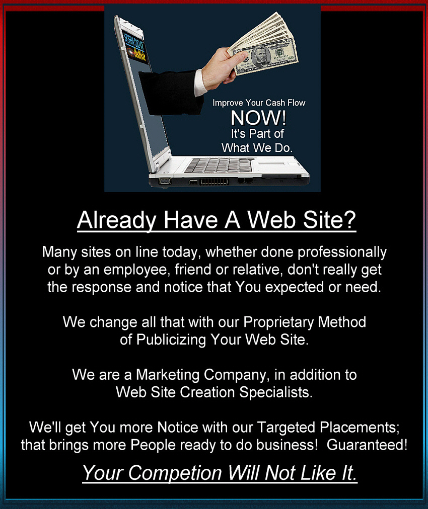Web Site Publicizing Information