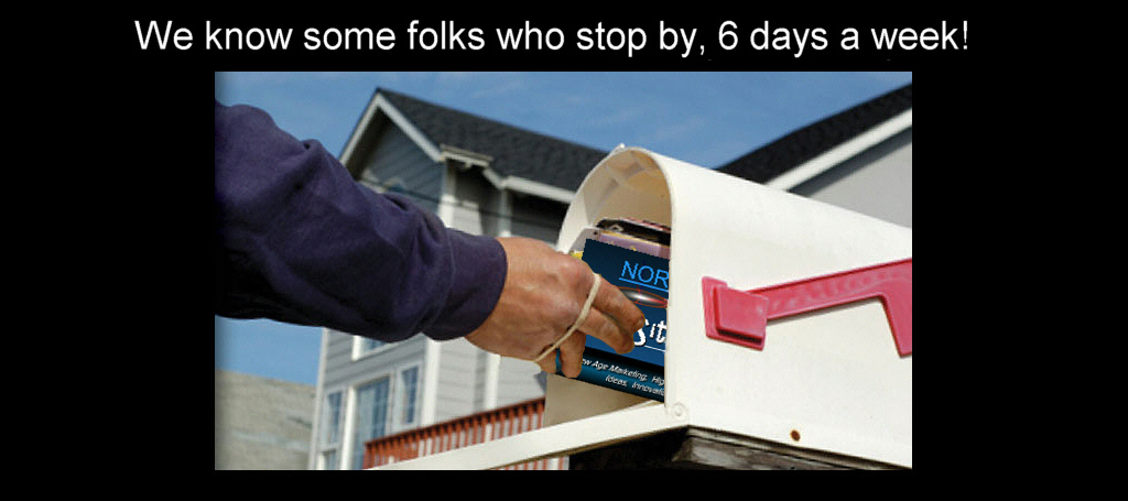 Mailman Delivers Norm Did It IdeaWorks Direct Mail